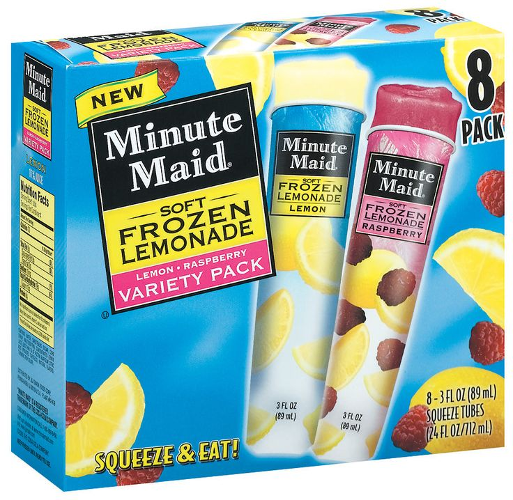 Minute Maid Frozen Lemonade Pops