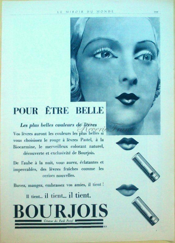 #bourjois #cosmetics 1930's