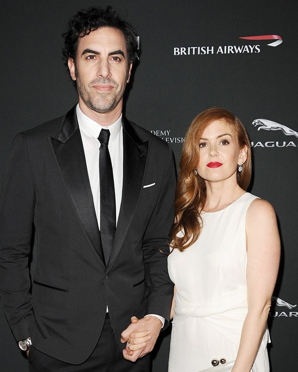 Isla Fisher and Sacha Baron Cohen Welcome Third Child  #InStyle