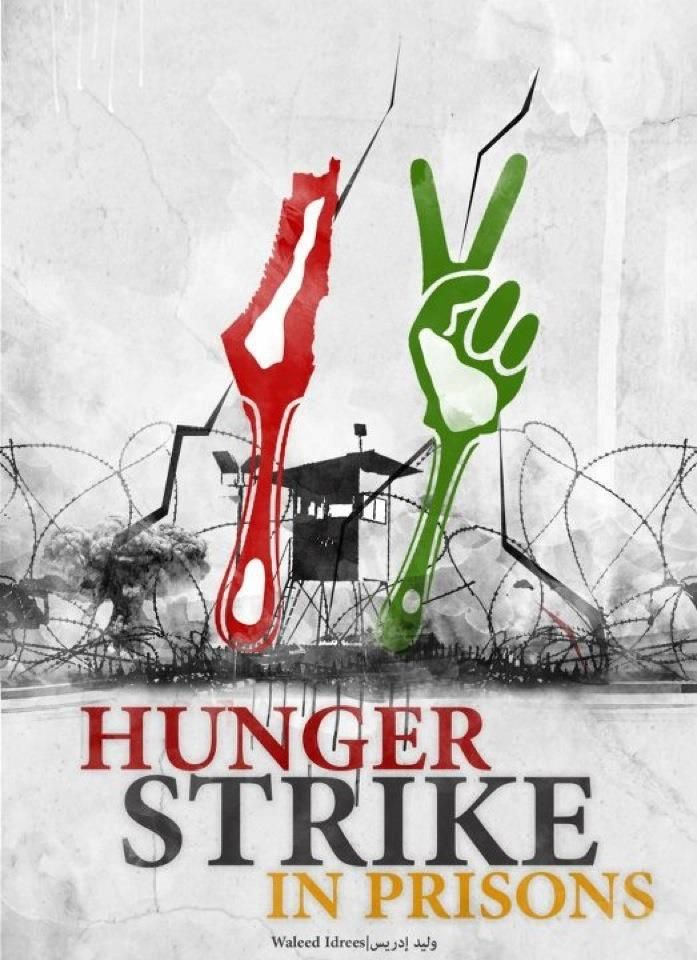 Hundreds of Palestinian prisoners on hunger strike