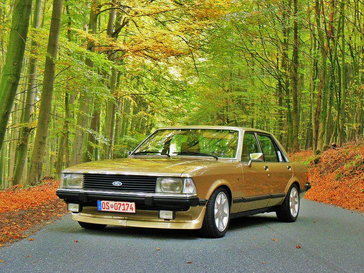 Ford Granada - I remember my Dad having a 'Ghia' model in gold.