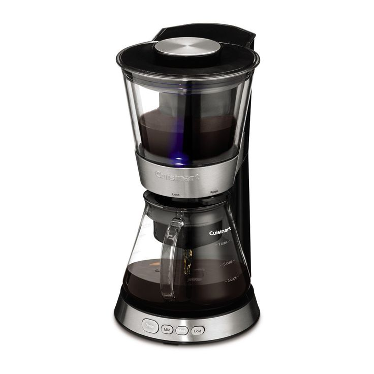 Cuisinart dcb10 automatic cold brew coffeemaker silver