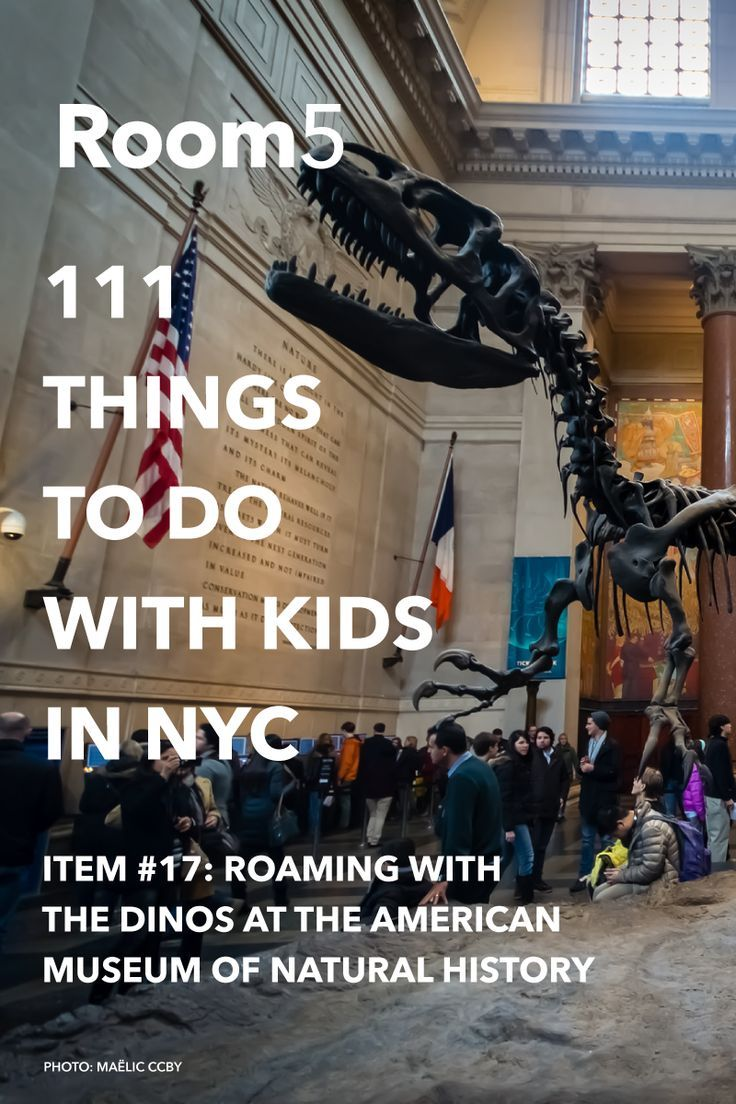 Visit the Museum of Natural History: #17 of 111 things to do in NYC with kids...
