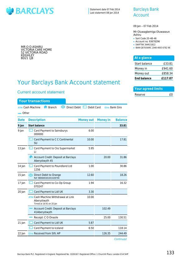 Barclays Online Banking How To Transfer Money