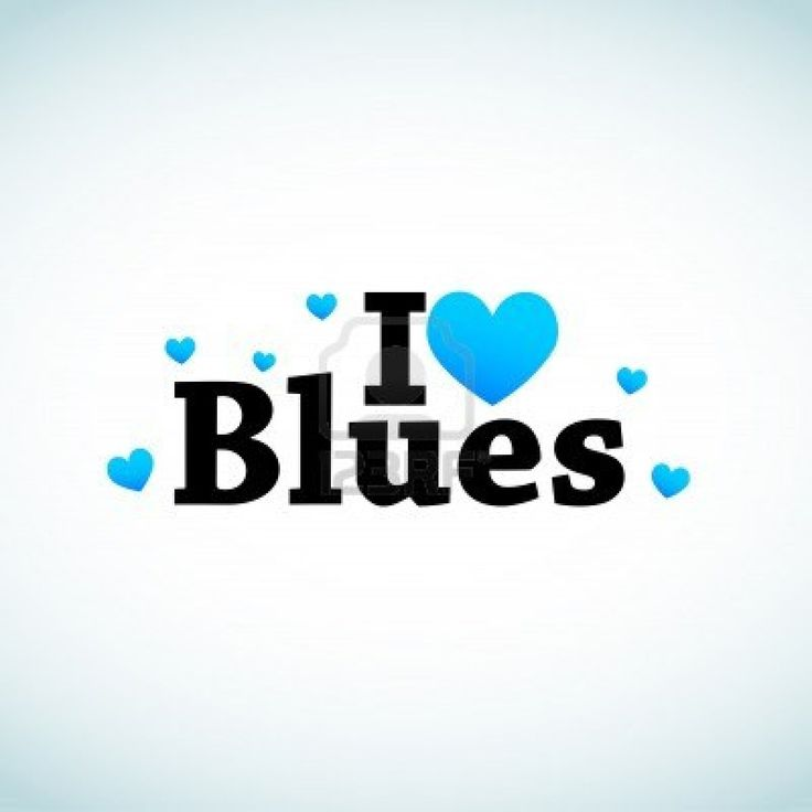 Blues and other genres of music I love.