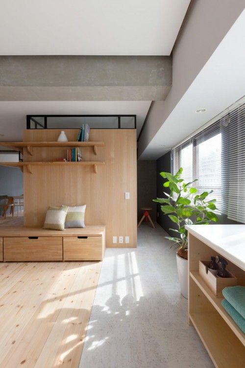 Japans appartement met open indeling