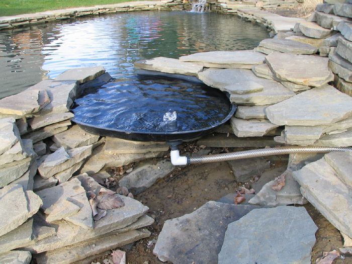 140 best images about fish pond technic on pinterest for Koi pool construction