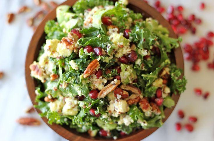Kale Salad with Meyer Lemon Vinaigrette: Recipe, Olives Oil, Kale ...