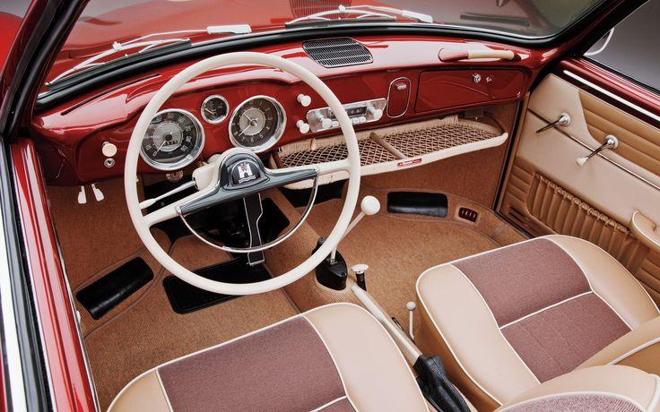 1958 Volkswagen Karmann Ghia Left Side View Photo 1