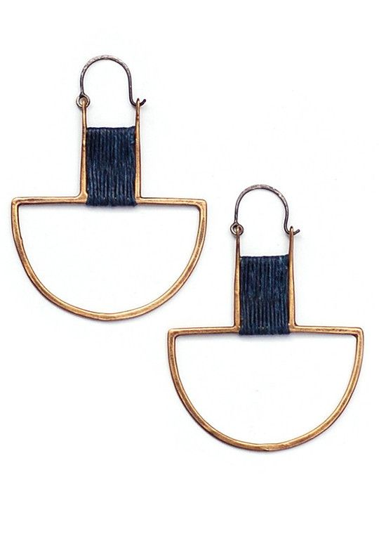 Curator - CAEL EARRINGS, $102.00 (http://www.curatorsf.com/cael-earrings/)
