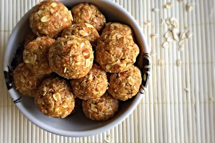 NO BAKE ROLLED OATS POWER BITES recipe on Food52