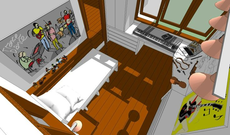 Trance Dance - Chick Corea #bedroom #musicroom #interior #poster #music #jazz #pillowsbycoredesigns #boxcontinentalorganbybrady #jazzguitarbyslmdesignco #edrumbythe_drummer #sketchup #autodesksketchbook #deanedge094stringsbyguitar13 #keepdrawing