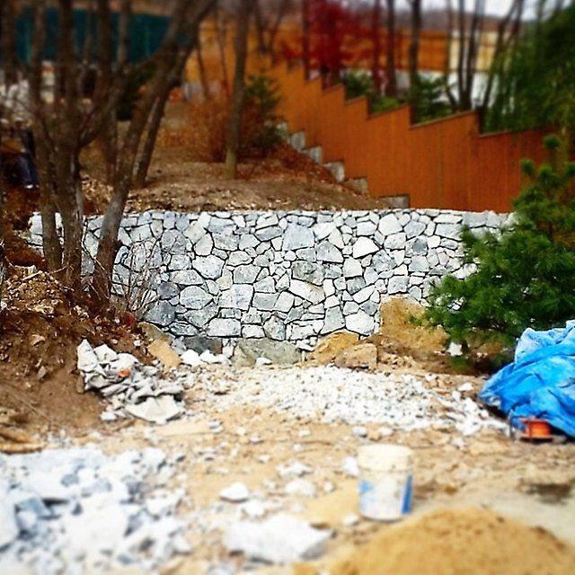 Заборы, ограждения, подпорные стены, габионы - Устройство заборов, ограждений, лестниц во Владивостоке