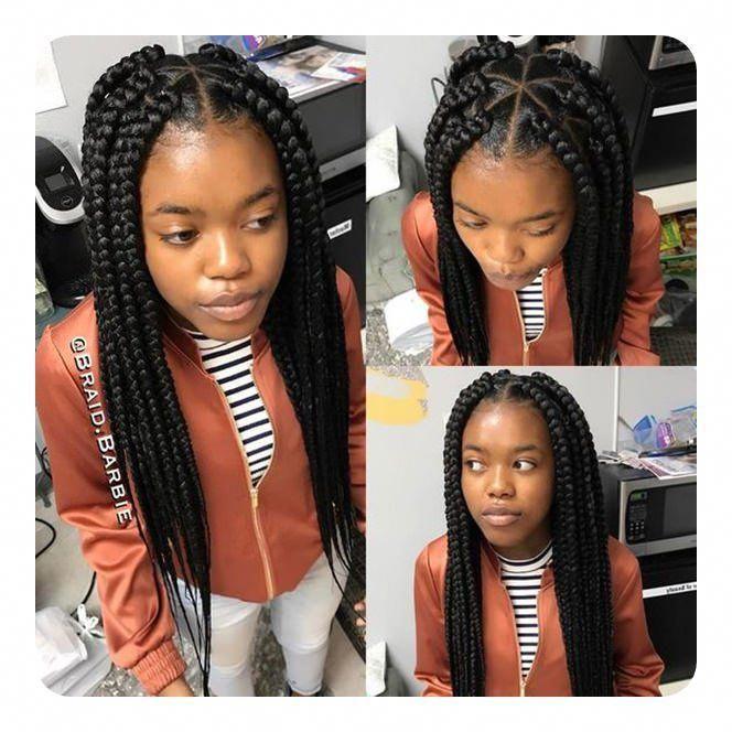 2019 Field Braids Hairstyles For Black Girls