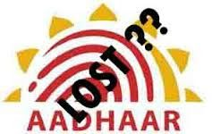 Precautions to take in Case of Aadhar Card Lost - Procedure to Download Duplicate Aadhar Card Online