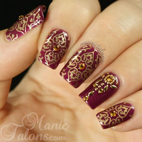 indian nails wedding - Google Search
