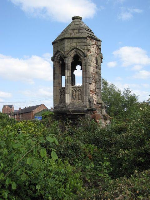 Shrewsbury Abbey refectory pulpit