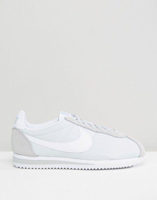 Nike   Классические белые кроссовки Nike Cortez