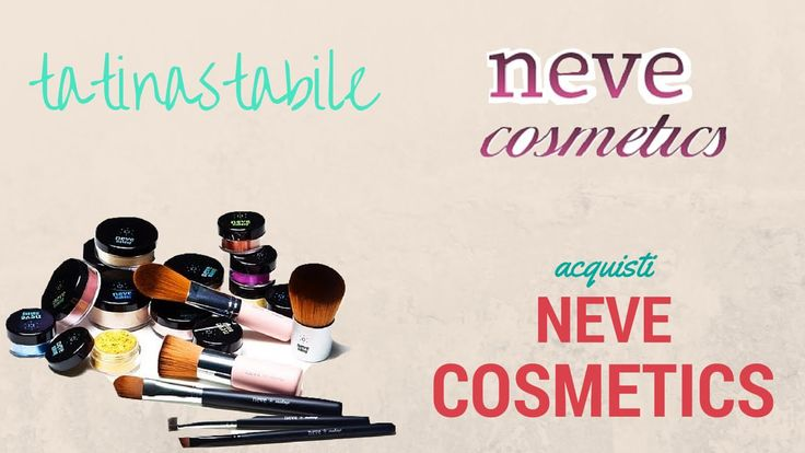 I miei acquisti neve cosmetics. Iscriviti al mio canale: http://www.youtube.com/subscription_center?add_user=tatinastabile  #nevecosmetics #ecobio #makeup #trucco #review #truccominerale #minerale #fondotinta #youtube #video #canale