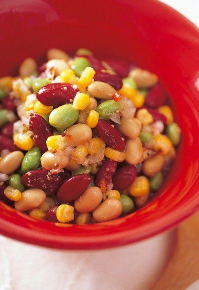 豆のメキシカンサラダ