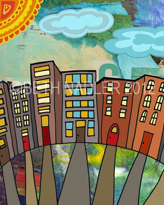 City on a Hill by Beth Nadler