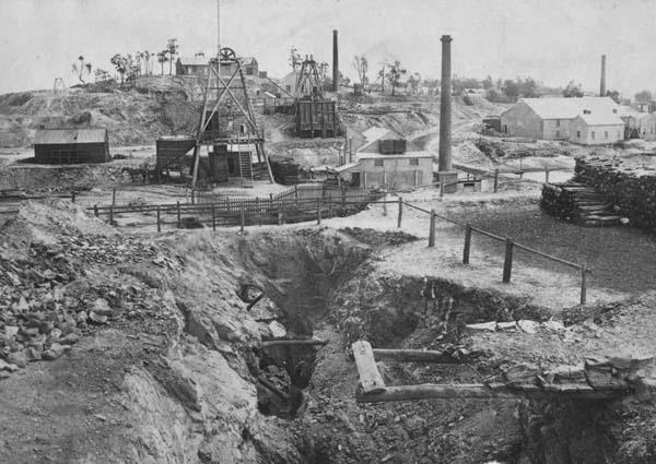 Victoria Hill, 1857 (Bendigo). Martin Kercher arrived 1856 and was a miner in Bendigo.