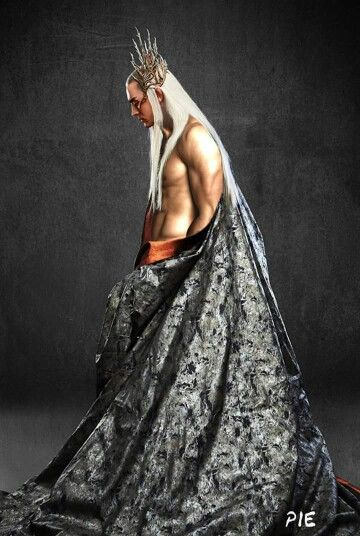 "Ok now I see there are some girls who want to see Thrandy like this! Just follow ""Hot Thranduil"" in my board! Because Thranduil for president!!! ❤️❤️❤️"