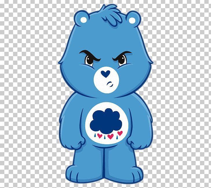 Grumpy Bear Care Bears Brown Bear Png Clipart Animal Figure Animals Bear Blue Care Bears Free Png Download In 2020 Care Bears Brown Bear Animal Figures