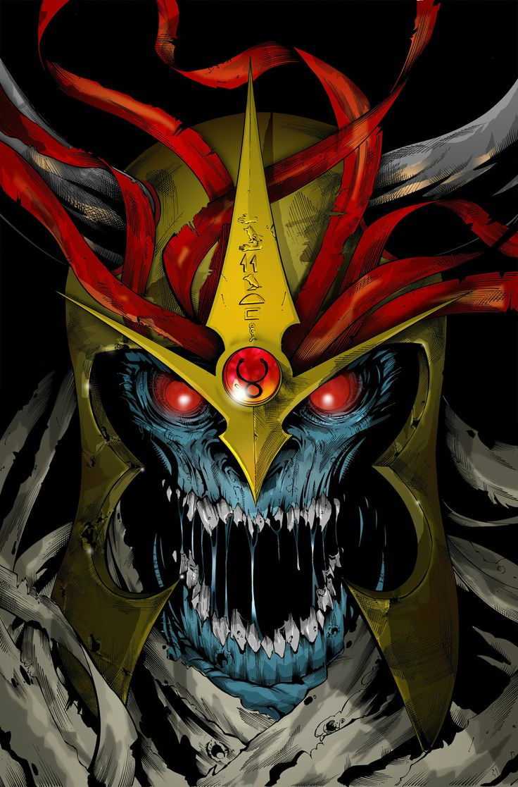 Mumm-ra no flames by scroll142