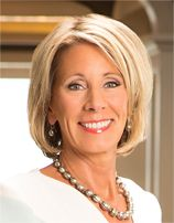 Betsy DeVos, Trump's choice for education secretary, has unclear higher ed priorities