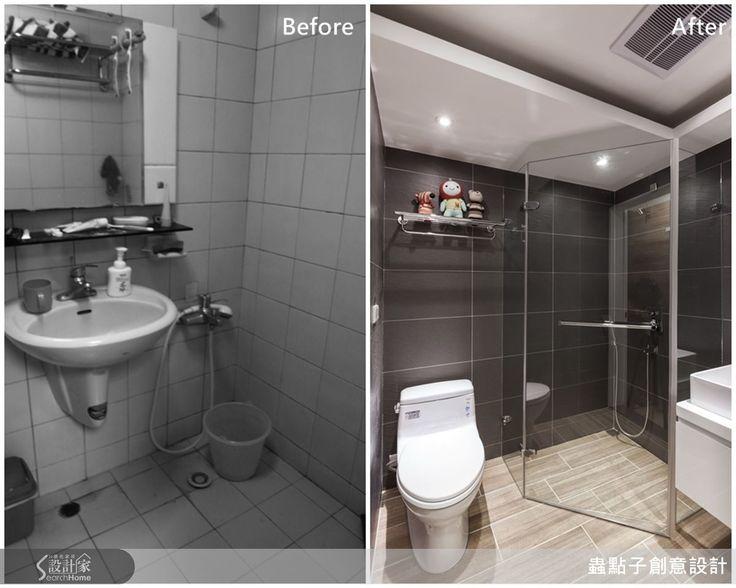 當老屋遇上loft 風 打造一個人的幸福窩 Bathroom Toilet Home