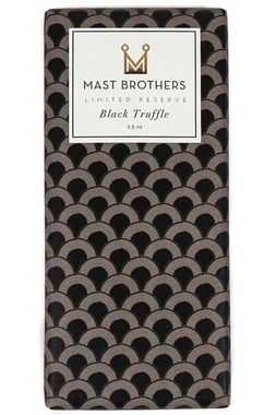 Mast Brothers Black Truffle Chocolate Bar. Possibly the sexiest chocolate bar that ever was?