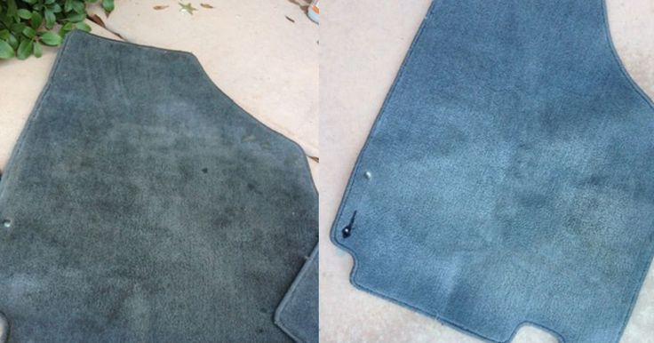 How To Clean Car Floor Mats With A DIY Miracle Cleaner