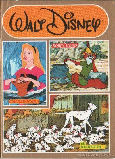 Walt Disney - Robin Hood - Csipkerózsika - 101 kiskutya