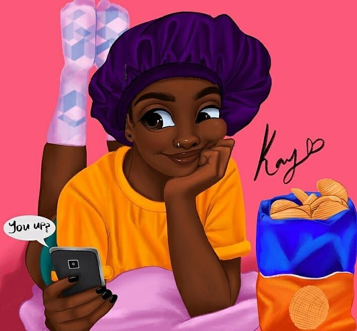 You Up? Digital Art By The Amazing @princess__kay