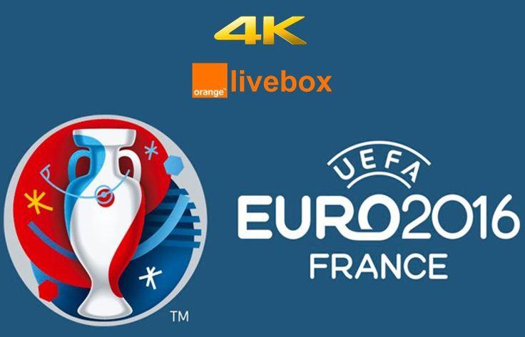 Huit matchs de l' #Euro   2016 seront diffusés en UltraHD 4K, dont la finale !!! #UltraHD #4K #UHD #Foot #Football