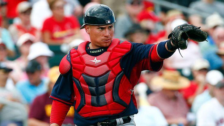 Las Grandes Ligas MLB: Christian Vázquez RED SOX