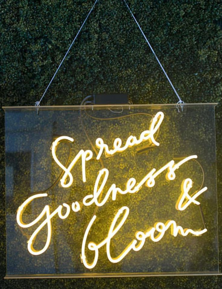 Neon | Spread Goodness & Bloom