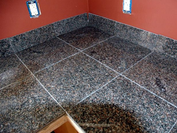 How to Install A Granite Tile Kitchen Countertop.. Learn how to prep and install the tiles. Step-by-Step Instructions and video.