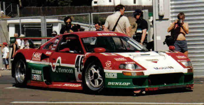 1996 Sard MC-8R Toyota (3.968 cc.) (T) Alain Ferté Mauro Martini Pascal…