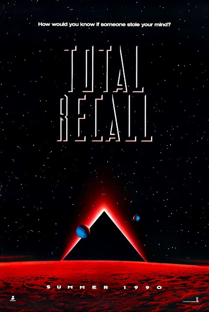 Movie Poster Art: Total Recall (1990)
