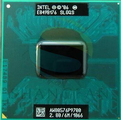 Intel cpu laptop Core 2 Duo P9700 SLGQS PGA478 CPU 6M Cache/2.8GHz/1066/Dual-Core Laptop processor for PM45 GM45