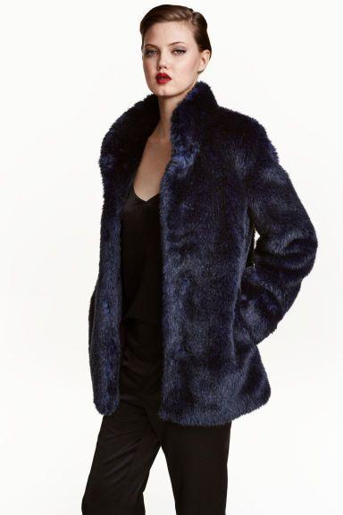 Faux fur jacket | H&M