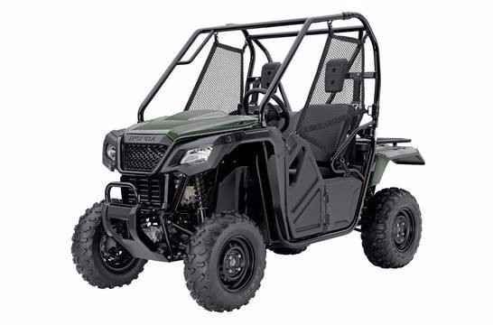 New 2015 Honda PIONEER 500 ATVs For Sale in Ohio. The Pioneer 500 is a brilliant concept: Like a full-sized side-by-side, it lets you take a passenger along and has the off-road capability to get you where you need to go. But the Pioneer 500 is a new take on the SxS formula: it's narrow, fits on tight trails, is fun to drive, and easy to load into a full-size truck bed.