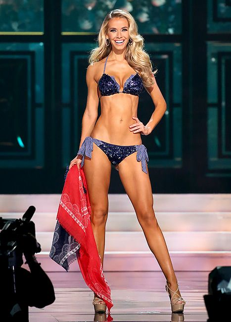 Arguably the most exciting and challenging portion of the Miss USA competition is the famous