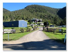 Camp Grounds and Camping Sites at Neurum Creek Bush Retreat, South East Queensland