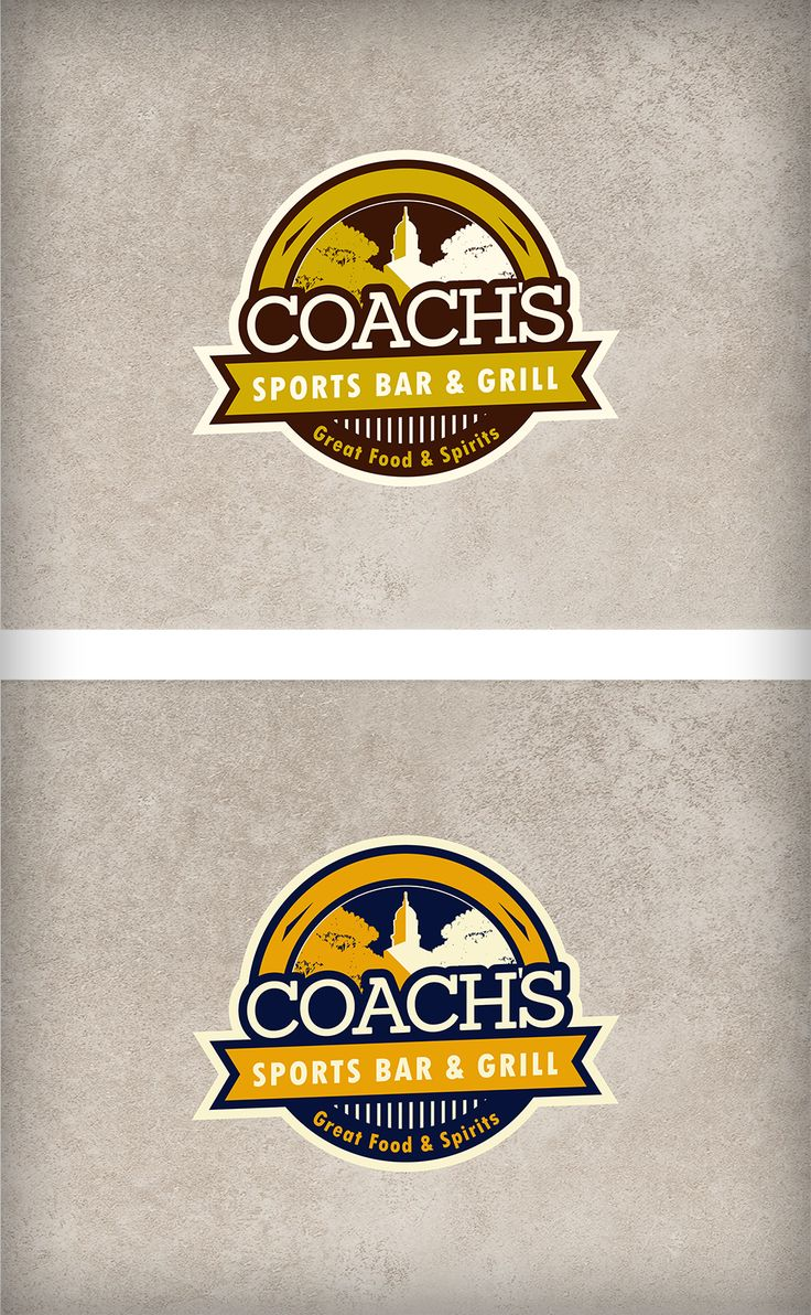 Sport Bar and Grill Logo | 99designs
