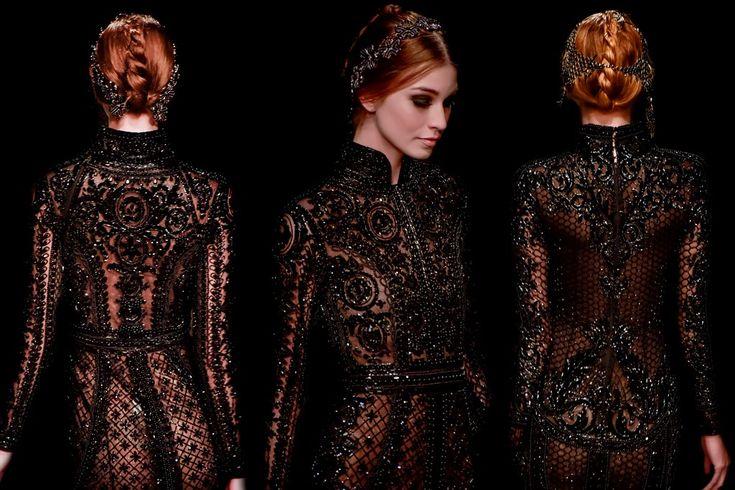 Michael Cinco Autumn/Winter 2015. So gorgeous.