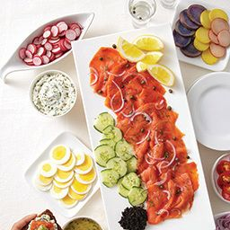 Cured or Smoked Salmon Appetizer Platter - Price Chopper Recipe