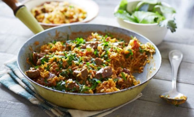 Very easy lamb pilaf #DailyMail